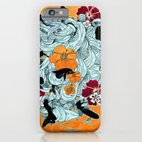 iPhone & iPod Case featuring Waves by Ewan Arnolda