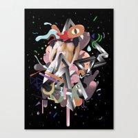 Galactico Canvas Print