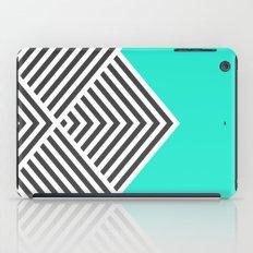 Minty Fresh Chevron iPad Case