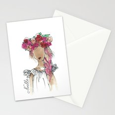 Flower Crowned Stationery Cards