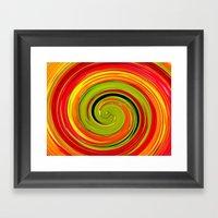 Espiral Framed Art Print