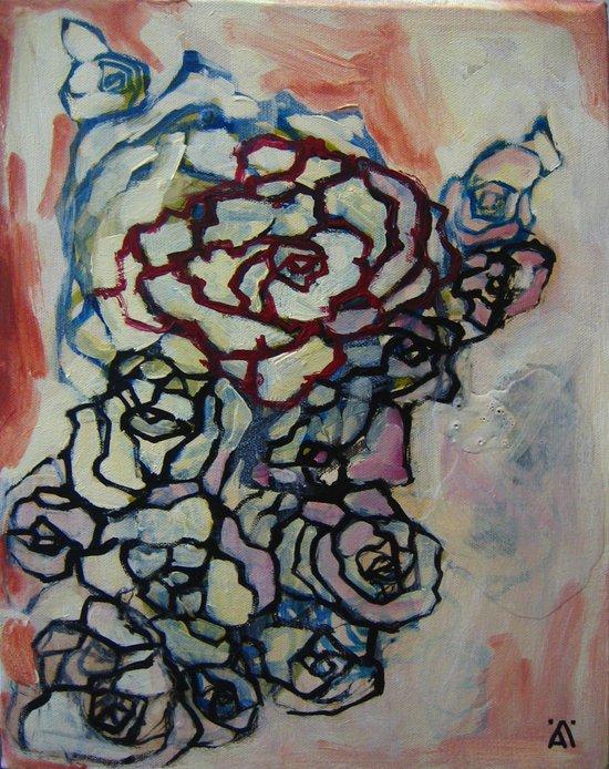 Rose 4424 Art Print