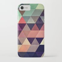 triangle iPhone & iPod Cases featuring tryypyzoyd by Spires