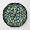 Flowers & Roos Wall Clock