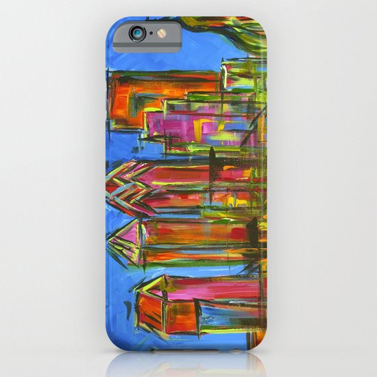 Philadelphia Skyline iPhone & iPod Case