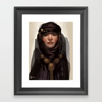 Shroud Framed Art Print