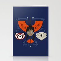 Spirited Avatar Stationery Cards