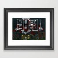 Hell's Paradise (no text) Framed Art Print