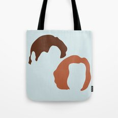 Mulder and Scully, X-Files Tote Bag