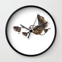 Rad's Hummingbirds Wall Clock