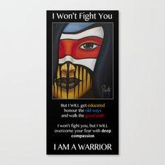 Compassion Warrior Canvas Print