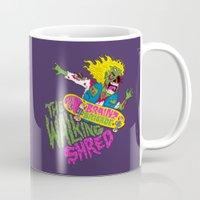The Walking Shred Mug