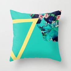Flowerful Throw Pillow