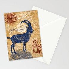 capricornus | steinbock Stationery Cards