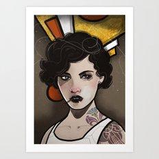 Moll. Art Print