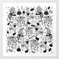 Las Chulas Art Print
