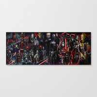 The Sith Lords Canvas Print