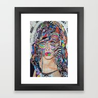 Framed Art Print featuring Wild And Free by Katy Hirschfeld