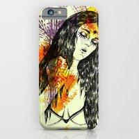 iPhone & iPod Case featuring Tribal Beauty 3 by Katya Zorin
