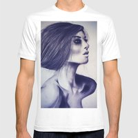 Girl Mens Fitted Tee White SMALL