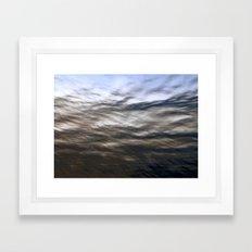 Beneath the Surface Framed Art Print