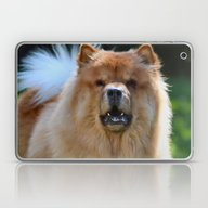 Laptop & iPad Skin featuring Poof Ball by Kealaphotography