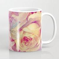 soft vintage roses Mug