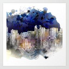 Big City Life Art Print
