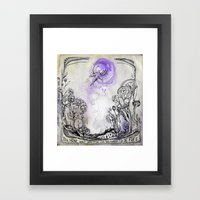 Blackbird Framed Art Print