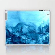 INTO ETERNITY, TURQUOISE… Laptop & iPad Skin