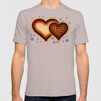 Lego Love - 162 Mens Fitted Tee Cinder SMALL