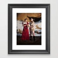 Vasalisa The Beautiful Framed Art Print