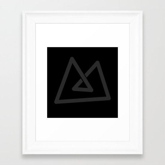 M like M Framed Art Print