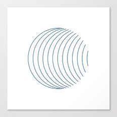 #352 Orbital – Geometry Daily Canvas Print