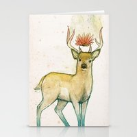 Deer Universe Stationery Cards