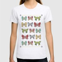 Butterfly Butterfly Womens Fitted Tee Ash Grey SMALL