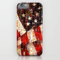 iPhone Cases featuring Flag by Urlaub Photography