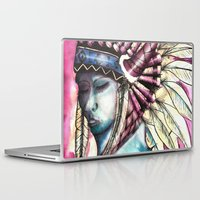native Laptop & iPad Skins featuring Native by Siriusreno