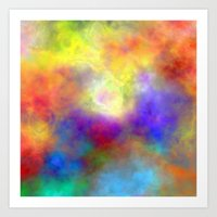 Oh So Colorful Art Print