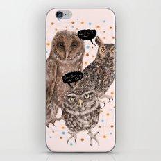 h'Hoo-hoo iPhone & iPod Skin