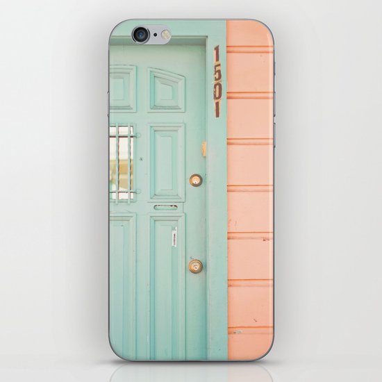 Pastel House iPhone & iPod Skin