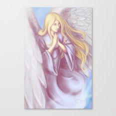 Lavender Angel Canvas Print