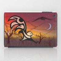 Dusk: Raven Owl Haida St… iPad Case