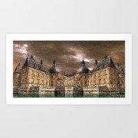 Reflected Palace Art Print