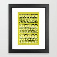 Tribal Rhythm Framed Art Print