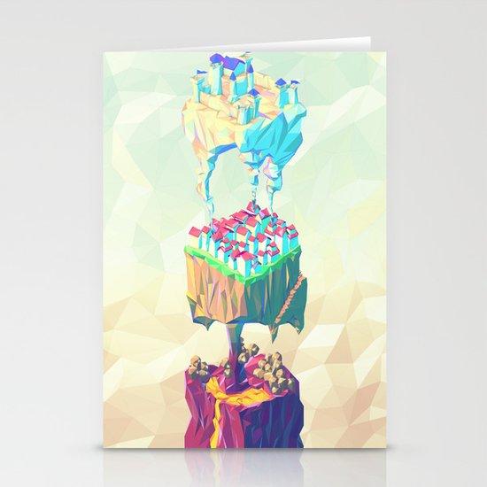 Triplex Stationery Card