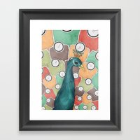 Weight Of Beauty Framed Art Print