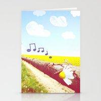Sunshine & Melody Stationery Cards