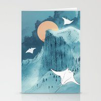 When Earth Rattled  Stationery Cards