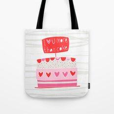 Love you more than cake Tote Bag